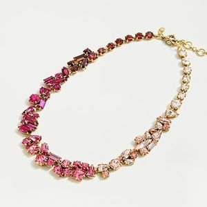 J. Crew Mixed Crystal Statement Necklace